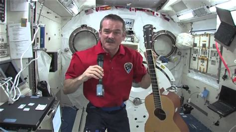 Canadian Astronaut Chris Hadfield Plays Guitar and Answers