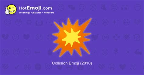 Boom Emoji Meaning with Pictures: from A to Z