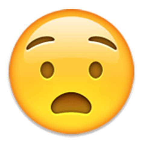 Anguished Face Emoji for Facebook, Email & SMS   ID