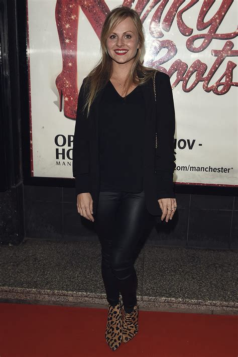 Tina O'Brien attends Kinky Boots Press Night - Leather