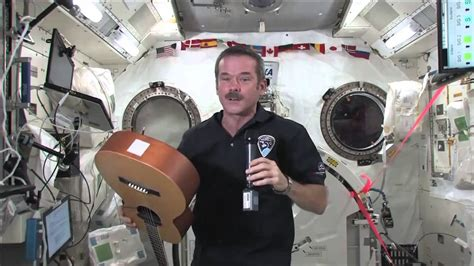 Canadian Astronaut Chris Hadfield Talks About Life in